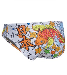 Turbo Men's Japan Vibes Water Polo Brief