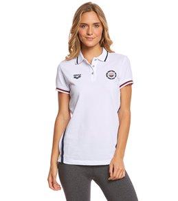Arena Women's National Team Short Sleeve Polo
