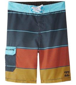 Billabong Boys' All Day OG Stripe Boardshort (Toddler, Little Kid)