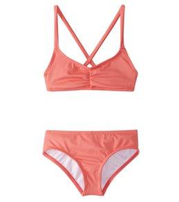 Billabong Girls' Sol Searcher Crossback Bikini Set (4-14)