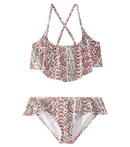 Billabong Girls' Gypsea Flutter Bikini Set (4-14)