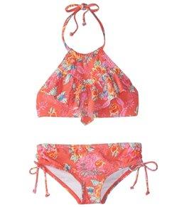 Billabong Girls' Rosie Daze High Neck Bikini Set (4-14)