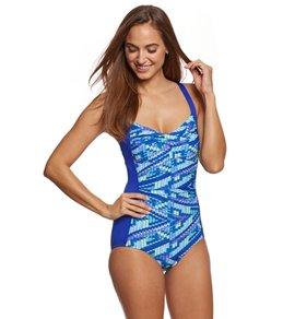 Gabar Wave Runner Twist One Piece Swimsuit