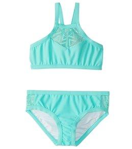 Seafolly Girls' Summer Essentials Tankini Set (6-16)