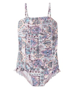 Seafolly Girls' Candy Pop One Piece Swimsuit (2T-7)