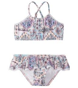 Seafolly Girls' Candy Pop Tankini Set (2T-7)