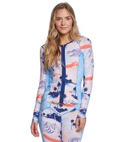 Roxy Women's 1.0 Popsurf Front Zip Long Sleeve Wetsuit Jacket