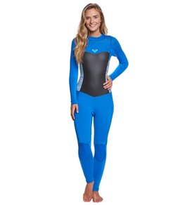 59c5ad9ccbb3 Roxy Women's 3/2MM Syncro Series Back Zip Fullsuit