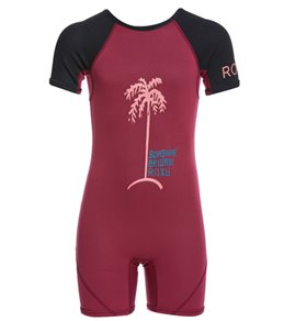Roxy Toddler Girls' 1.5MM Syncro Back Zip Spring Suit