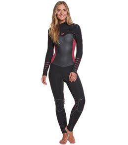 Roxy Women's 4/3MM Syncro+ Chest Zip Fullsuit