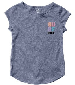 Roxy Girls' 4 Square Surf RG Fashion Crew (8-16)