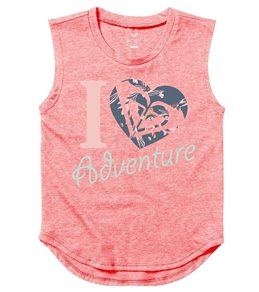 Roxy Girls' Heart Adventure TW Muscle Tee (2T-7)
