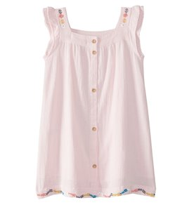 Roxy Girls' Tropic's Culture Solid Dress (2T-7)