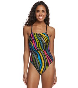 TYR Jungle Groove Crosscutfit Tieback One Piece Swimsuit