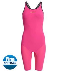FINIS Women's Fuse Race John Open Back Tech Suit Swimsuit