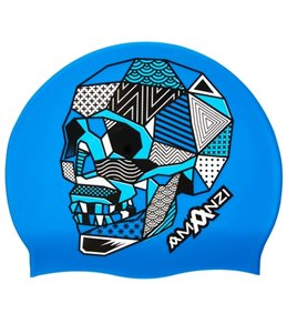 Amanzi Death Star Silicone Swim Cap