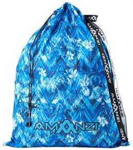 Amanzi Blue Crush Mesh Gear Bag