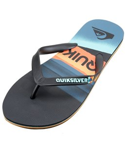 Quiksilver Men's Molokai Slash Logo Sandal