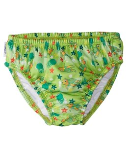 FINIS Turtle Green Swim Diaper