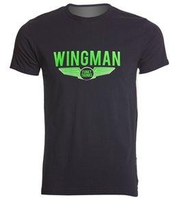 Funky Trunks Men's Navy Wingman Crew Neck T-Shirt