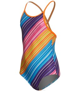 Funkita Toddler Girls' Fine Lines One Piece Swimsuit