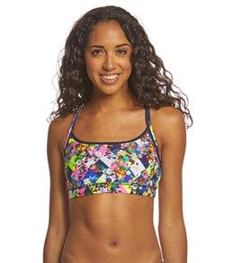 Funkita Women's Princess Cut Sports Swimsuit Top