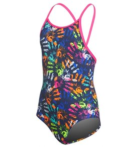 Funkita Toddler Girls' Hands Off One Piece Swimsuit