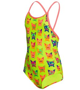 Funkita Toddler Girls' Hot Diggity One Piece Swimsuit