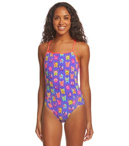 860e6178fbc Funkita Women's Pooch Party Single Strap One Piece Swimsuit