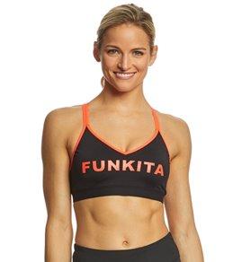 Funkita Women's Stampd Candy Bondage Crop Top