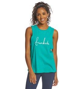 Funkita Women's Mint Scribble Tank Top