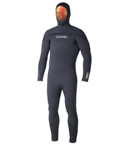 Xcel Men's Polar Thermoflex 9/7/6mm Hooded Full Wetsuit