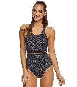 Beach House Sport Block Flex One Piece Swimsuit