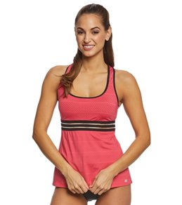 Beach House Sport Block Electro Tankini Top