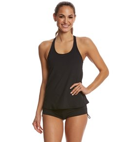 3ef92833d7002 TYR Solid Taylor Tankini Top