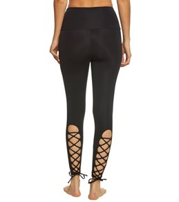 Onzie High Rise Laced Up Yoga Leggings