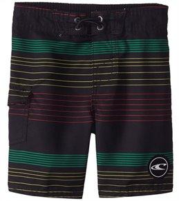 O'Neill Boys' Santa Cruz Stripe Boardshort (Toddler)