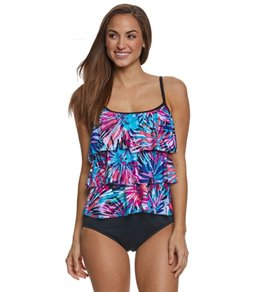 Maxine Spinart Tiered Tankini Top