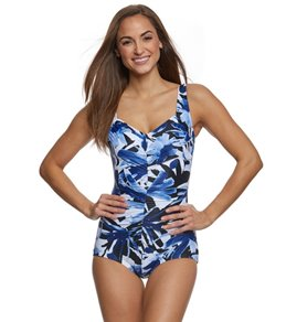 Maxine Ink Girl Leg One Piece Swimsuit