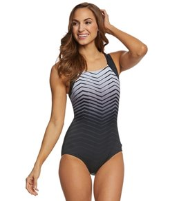 Reebok Prime Performance Women's High Neck One Piece Swimsuit