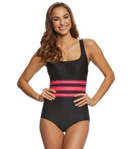 Active Spirit Front and Center Tank Swimsuit