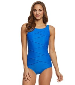Active Spirit Timeless Beauty High Neck Swimsuit