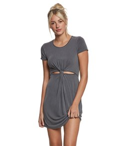 LIFE Clothing Front Knot Dress