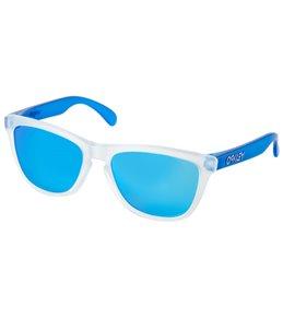 Oakley Men's Frogskin Iridium Lens Sunglasses