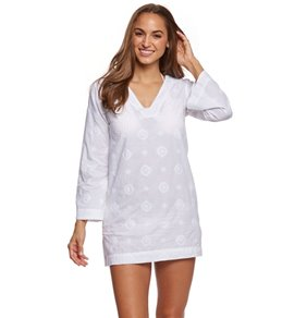 Helen Jon Limited Edition Embroidered Cover Up Tunic