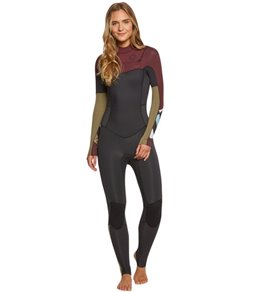 Billabong Women's 3/2MM Salty Dayz Chest Zip Fullsuit