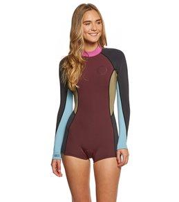 Billabong Women's 2MM Spring Fever Back Zip Spring Suit