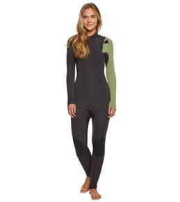 Billabong Women's 3/2MM Furnace Comp Chest Zip Fullsuit