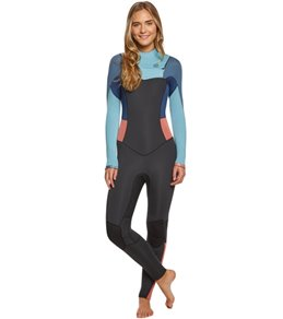 Billabong Women's 3/2MM Synergy Chest Zip Fullsuit