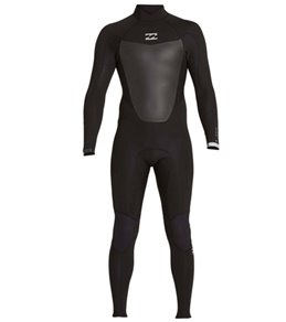 Billabong Men's 5/4MM Absolute Comp Back Zip Fullsuit
